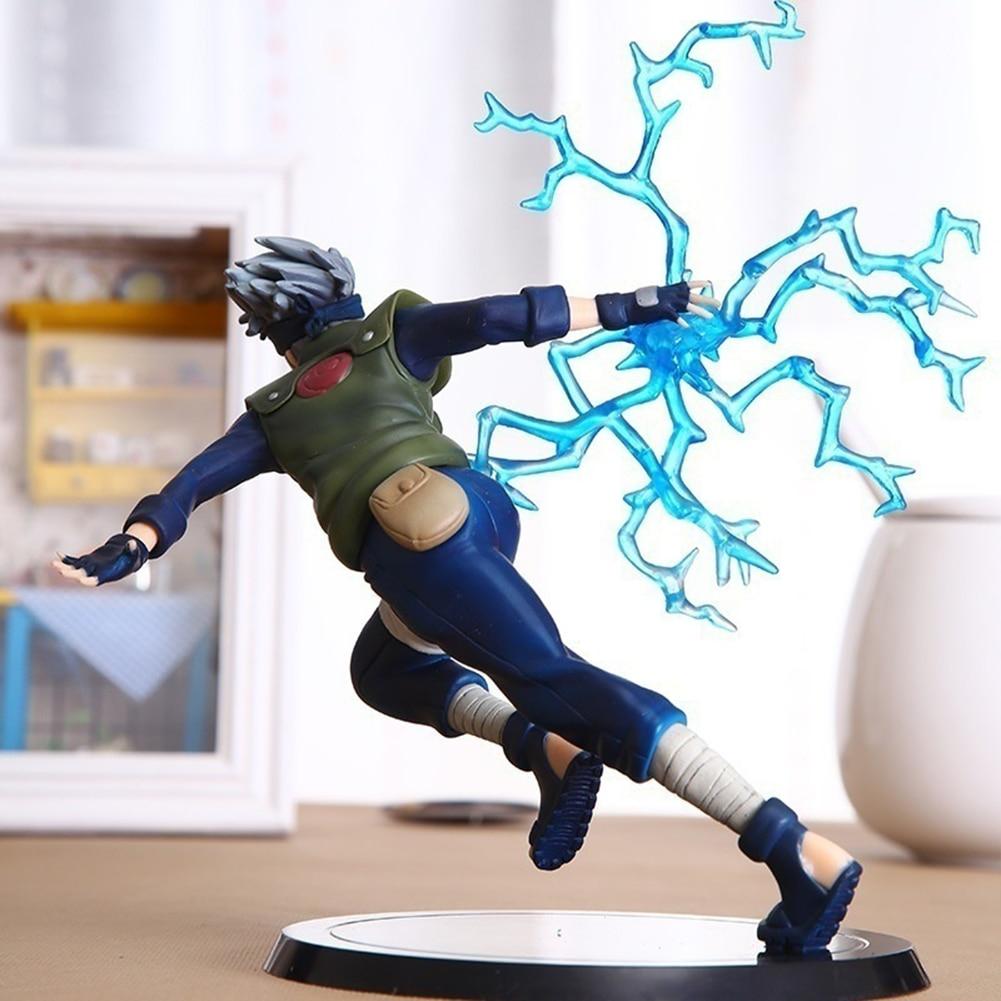 Nouveau Naruto Kakashi Sasuke figurine Anime marionnettes Figure PVC jouets Figure modèle Table bureau décoration accessoires