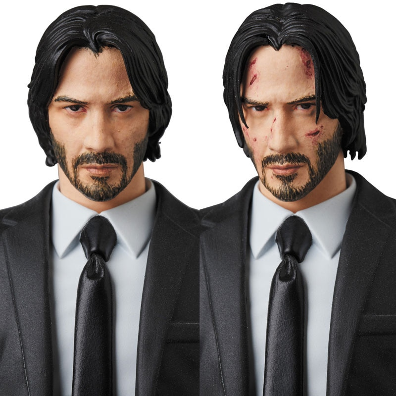 16cm JOHN mèche chapitre 2 Joint mobile figurine PVC jouets collection poupée anime dessin animé modèle