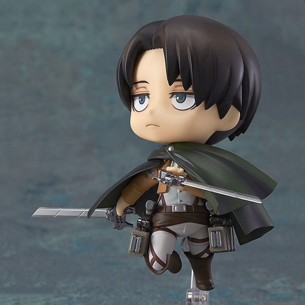 Figma 203 207 213 figurine en PVC attaque sur Titan figurines Anime Eren Jaeger Mikasa Levi Rivaille Ackerman figurine modèle jouet Gif