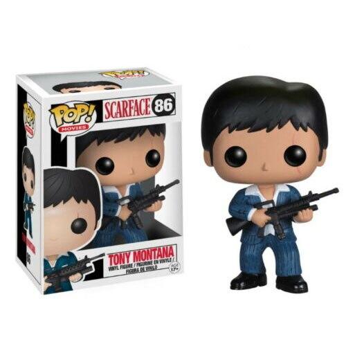 Funko-figurines pop Scarface, Tony Montana, jouets, Collection de figurines, modèle poupées, cadeau de noël pour enfants