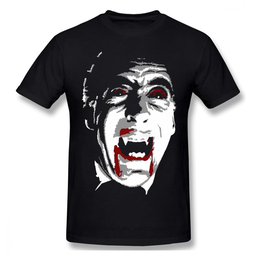 Dracula horreur série TV T-Shirts pour hommes Vlad Tepes drôle col rond coton t-shirt 2020