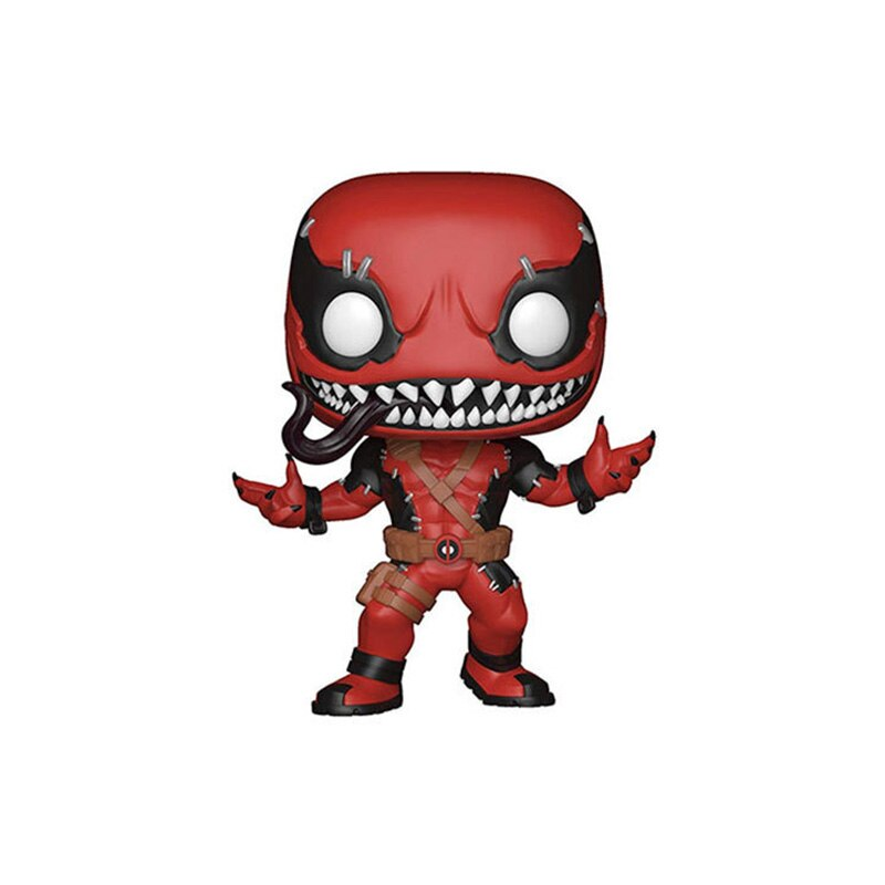 Funko Pop The Avengers figurines jouets araignée homme de fer Hulk venin Thanos Deadpool Thor 10cm PVC modèle enfants cadeau de noël