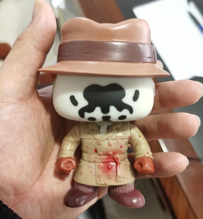 Horlogers Rorschach docteur Manhattan limitée Ver. Figurine Collection vinyle poupée modèle jouets