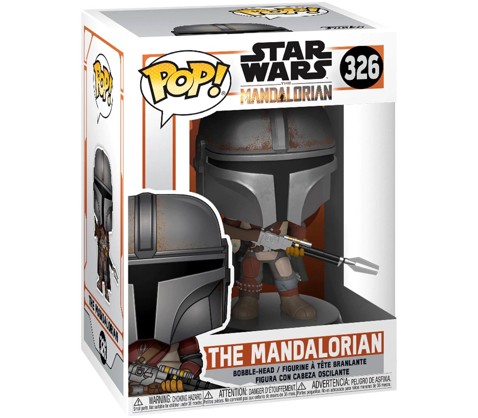 FUNKO POP Star Wars le mandalorien 326 # PVC Action jouet figurines Bobble tête Figurine Figura modèle collégition jouets pour les Fans