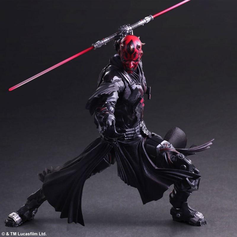 Jeu d'art 26cm dark Maul figurine modèle jouet