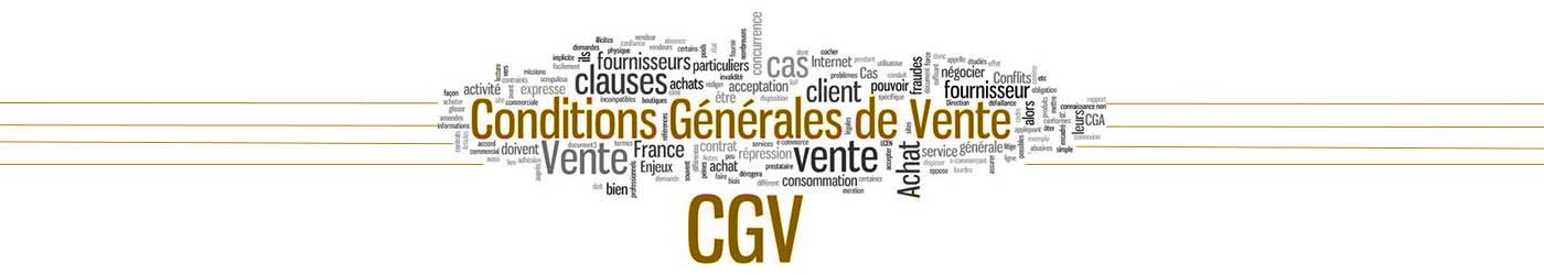 cgv produits dérivés
