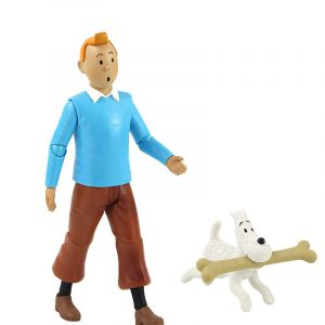Figurine articulée Tintin sur Produits dérivés
