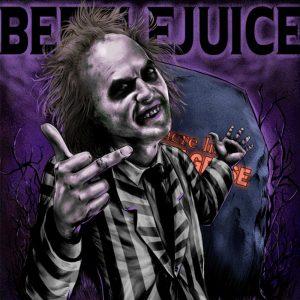 beetle juice affiche