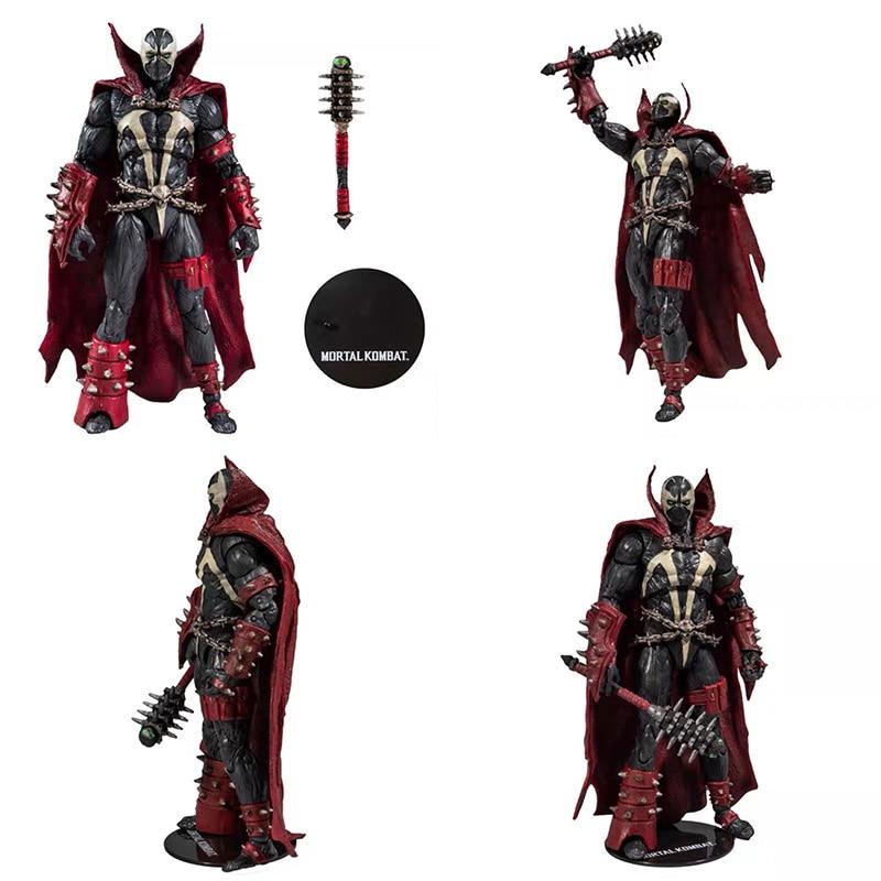 Figurine Mortal Kombat Spawn, poupée jouet MF, Collection de figurines Brinquedos, modèle cadeau 18cm