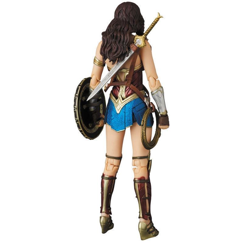 Figurine Super Hero WonderWoman MAF048, 15cm, jouet d'action