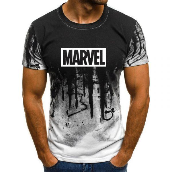 T-shirt Marvel design