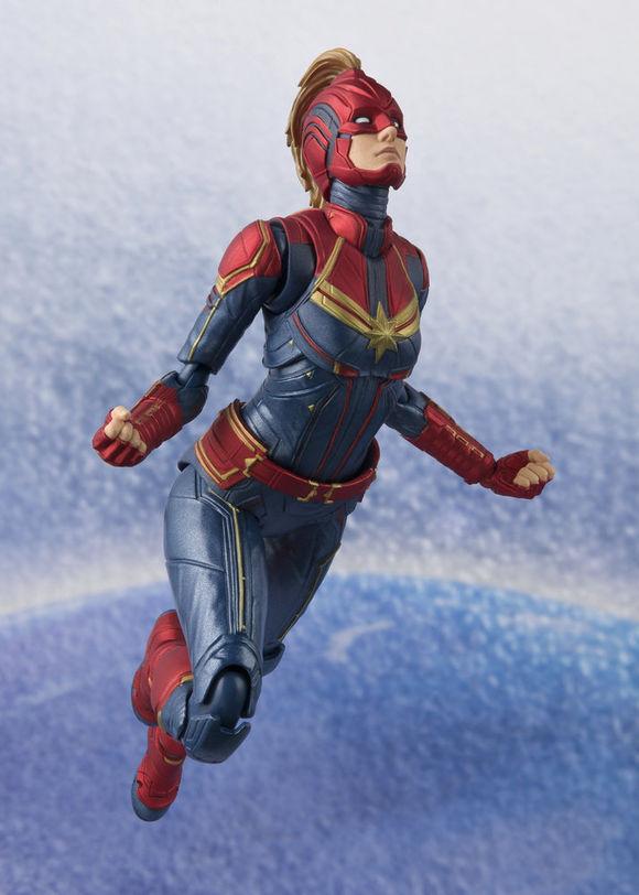 captain marvel brie larson figurine
