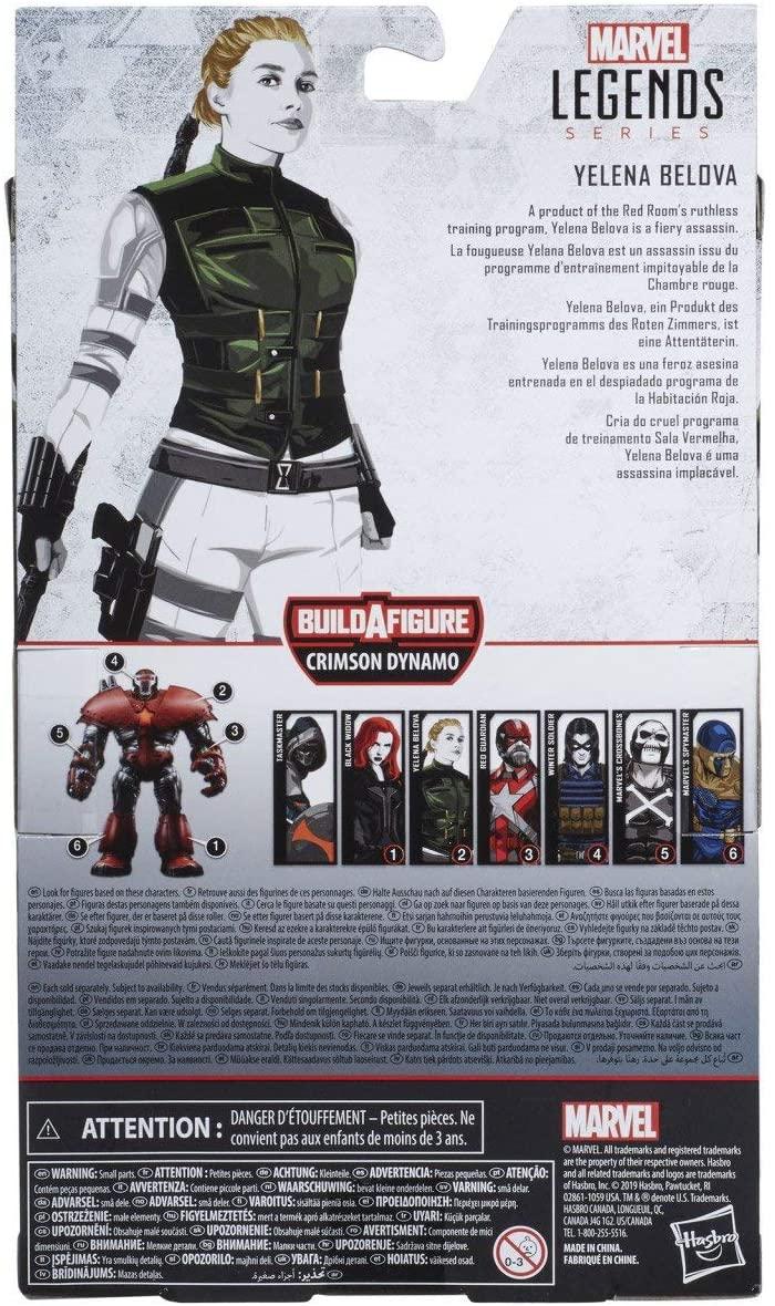 Yelena Belova – série Marvel Avengers Legend, 4 ans, livraison gratuite, Original