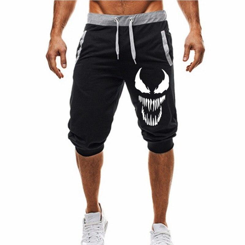 Hommes Chaud 2019 Nouveau Hot-Vente homme Short D'été Décontracté Shorts De Mode venin imprimé Survêtement Fitness Court Survêtement M-3XL