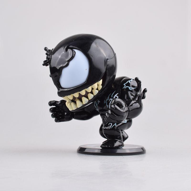Mignon Marvel venin Eddie Brock Bobble tête figurine jouets