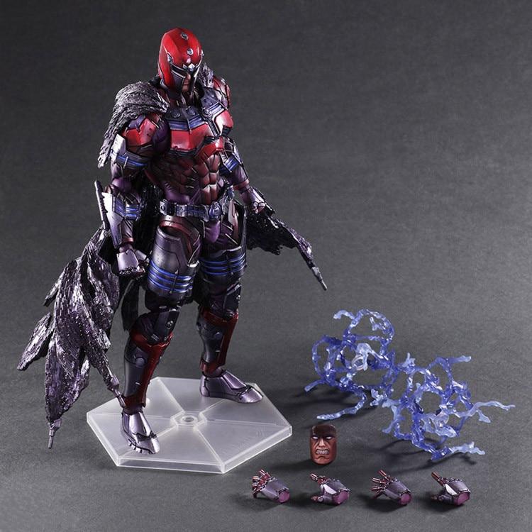 Jouets figurines Marvel x-men, 27cm, jouets miniatures pour hommes, magnéto Max, easenhardt