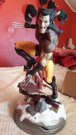 Figurine de collection Marvel Wolverine Logan en PVC, 24cm, modèle de jouet