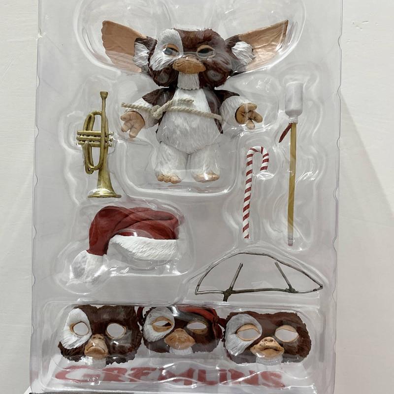 Figurine de film Gremlins, 7.2 pouces, 12cm, Original, nouvelle édition de noël, jouet, poupée, cadeau de noël