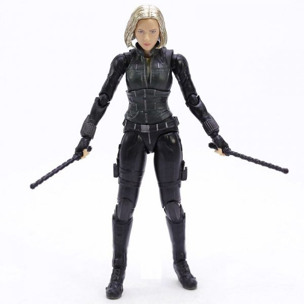 Black Widow Figurine Articulée