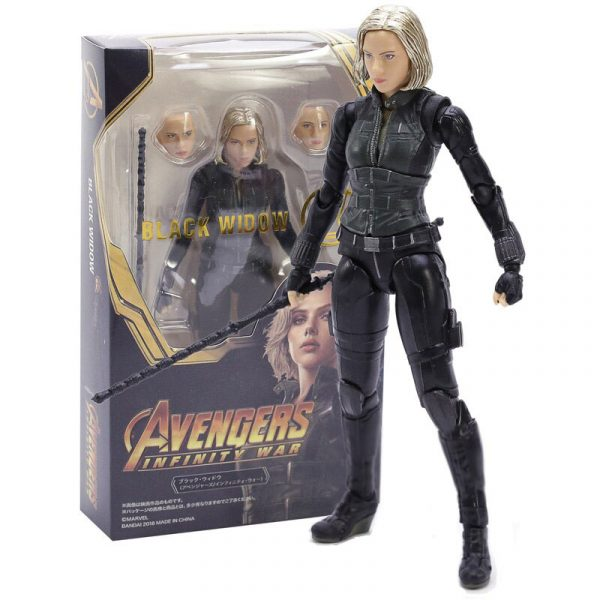 Produits dérivés : Black Widow Figurine articulée