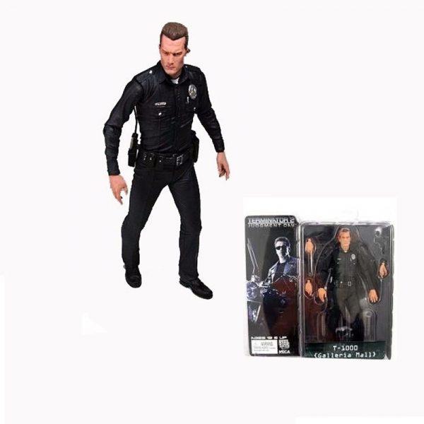 Figurine articulée Terminator T 1000 Robert Patrick