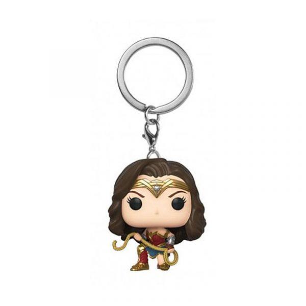 Porte-clé Wonder Woman façon POP