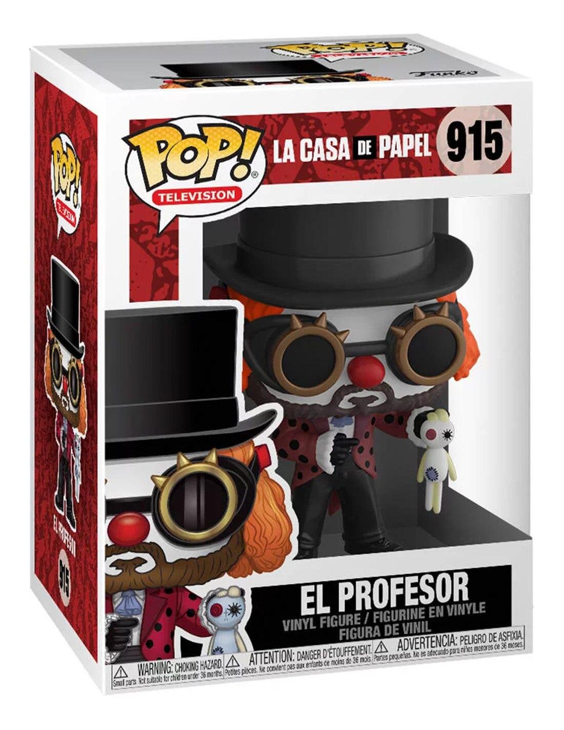 El profesor figure pop