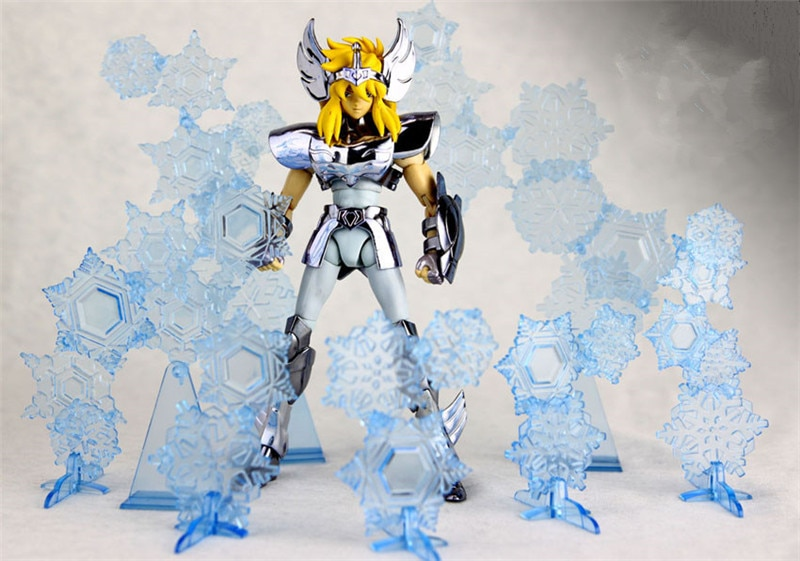 In stock Greattoys GT Model Saint Seiya EX Cygnus Hyoga / Pegasus V1 / Andromeda Shun Myth Metal Armor Cloth Action Figure toys