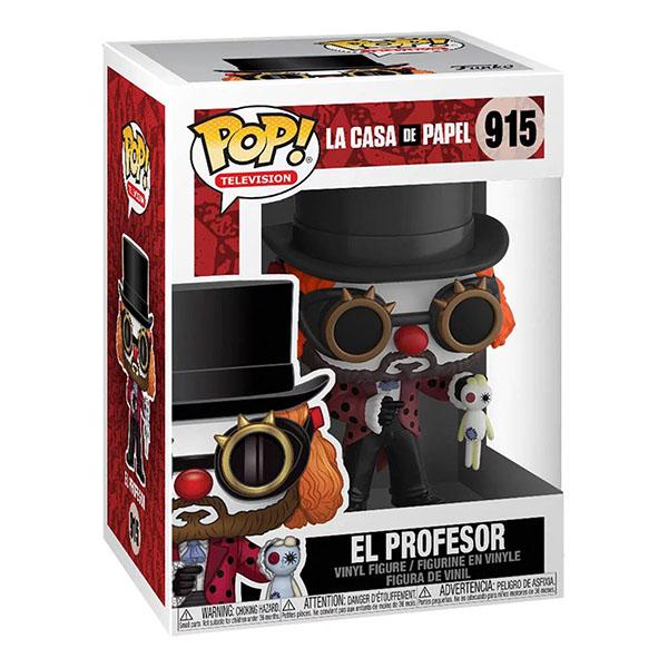 Funko pop el profesor de la casa de papel