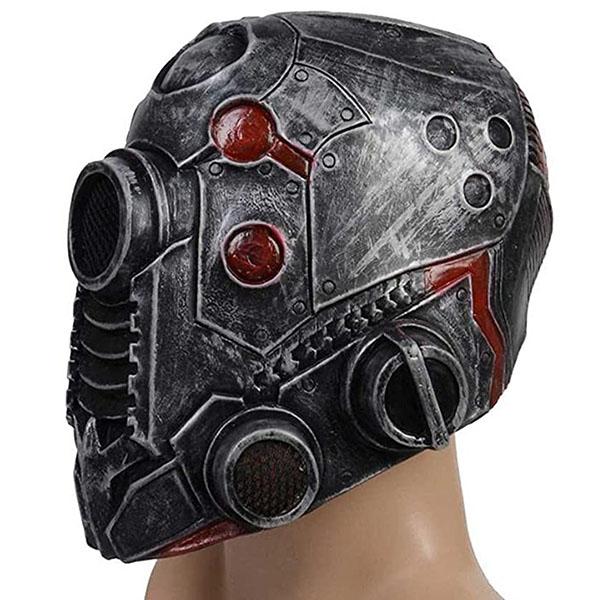 Masque cosplay Cyberpunk latex